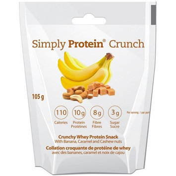 The Simply Bar SimplyProtein Crunch Banana Caramel Cashew 1.16 oz