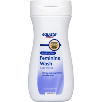 Equate Soft Petal Sensitive Skin Feminine Wash, 9 fl oz