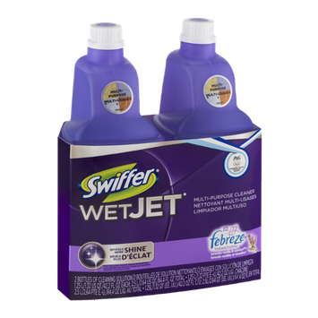 Swiffer WetJet Multi-Purpose Cleaner Lavender Vanilla & Comfort - 2 CT