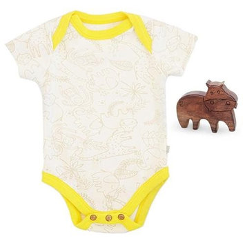 Finn + Emma Organic Cotton Unisex Gift Set -size 3-6 - Jungle print