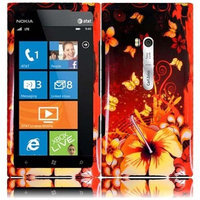 Nokia Lumia 900 Design Cover - Sensational Flower