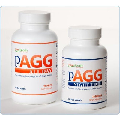 NewHealth Solutions PAGG Stack Supplement System - One Month Supply as specified in 4 Hour Body