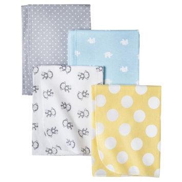 Monkeys n Dots 4pk Receiving Blanket by Circo
