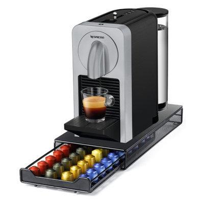 Nespresso Prodigio Titan Gray Espresso Machine with Milk Frother