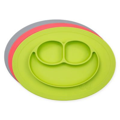 Infant ezpz 'Mini Mat' Silicone Feeding Mat - Blue