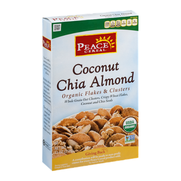 Peace Cereal Coconut Chia Almond