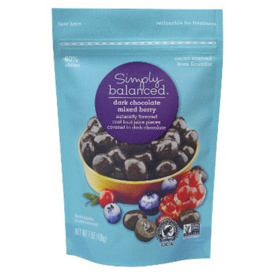 Simply Balanced Dark Chocolate Berry Bites