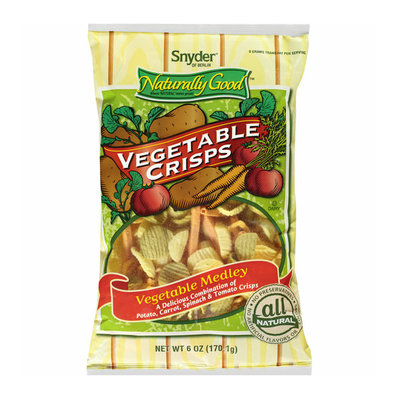Snyder of Berlin Naturally Good Vegetable Medley Vegetable Crisps