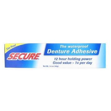 DenTek Secure Denture Bonding Cream - 1.4 oz