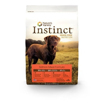 Instinct Grain Free Instinct Grain-Free Salmon Meal Dry Dog Food by Nature's Variety, 13.2-Pound Package