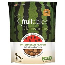 Fruitables - Vetscience FB00260 Fruitable Skinny Minis Chewy Watermelon - 5 Oz.