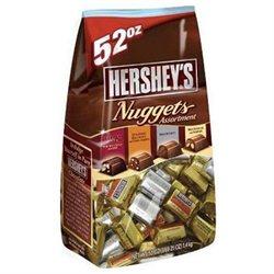 The Hershey Company Hersheys Assorted Nuggets 52 Ounce Bag