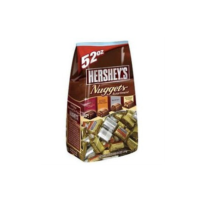 The Hershey Company Hersheys Assorted Nuggets 52 Ounce Bag