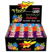 Zotz Fizz Power Candy, Cherry Apple Watermelon, 48 pk