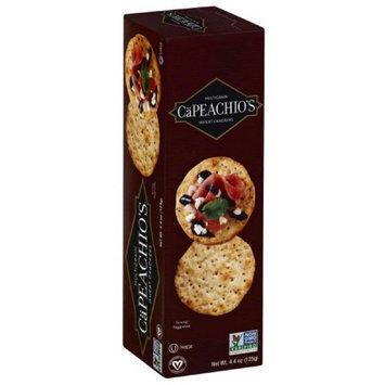 CaPeachio's Multigrain Wheat Crackers, 4.4 oz, (Pack of 12)