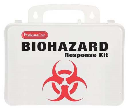PHYSICIANSCARE 90362G BBP Kit, Spill Clean Up,26 pcs.