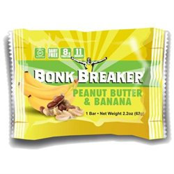 Bonk Breaker Energy Bar: Peanut Butter and Banana; Box of 12