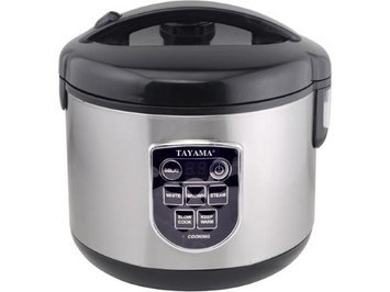 Tayama 5-Cup Digital Rice Cooker and Food Steamer