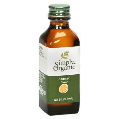 Simply Organic Orange Flavor - 2 fl oz