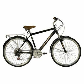 """Kent International Kent Men's Northwoods Springdale 28 Comfort Bike - Black"""""""