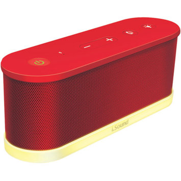 iSound ISOUND-5425 Waves Wireless Bluetooth Speaker Red
