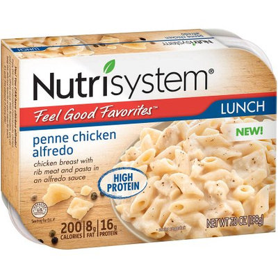 Nutrisystem Feel Good Favorites Penne Chicken Alfredo, 7 oz