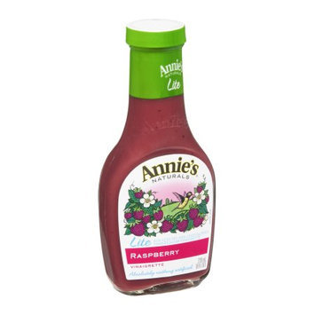 Annie's Vinaigrette, Lite, Raspberry, 8 FL OZ (Pack of 6)