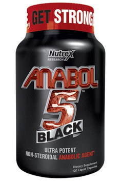 Nutrex Research Anabol 5 Black 130 Licaps