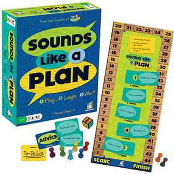 Gamewright Sounds Like a Plan Ages 10 and up, 1 ea