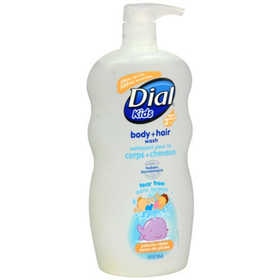 Dial Kids Body Wash, Peach, 24 fl oz