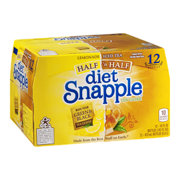 Diet Snapple Half 'n Half - 12 CT
