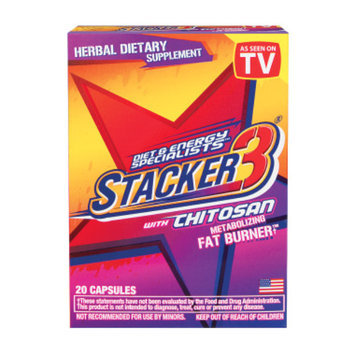 Stacker 3 Metabolizing Fat Burner w/ Chitosan