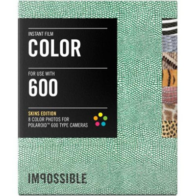 Impossible PRD3198 Color Instant Film (Skins Edition) for Polaroid 600-Type Cameras
