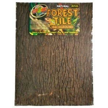 Zoo med NWB-4 Natural Forest Tile Panel Backgrounds for Terrariums / Size (XLarge)