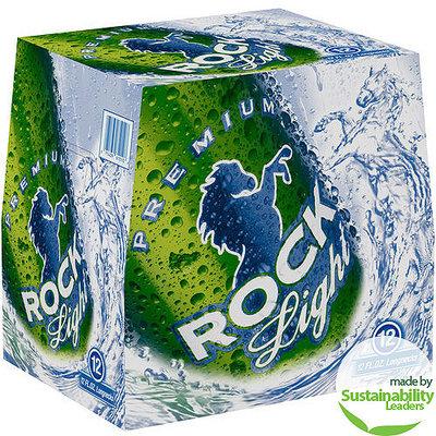 Rock Light Premium Beer, 12 fl oz, 12 pack