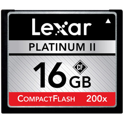 Lexar LCF8GBBSBNA200 Media Platinum II 8 GB CompactFlash (CF) Card