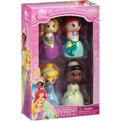 Disney Princess Enchanting Scents Body Washes Gift Set, 4 pc
