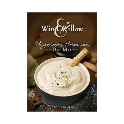 Wind & Willow Peppercorn Parmesan Dip Mix Boxes, Pack of 4