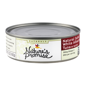 Nature's Promise Naturals Tuna Solid White Albacore in Water