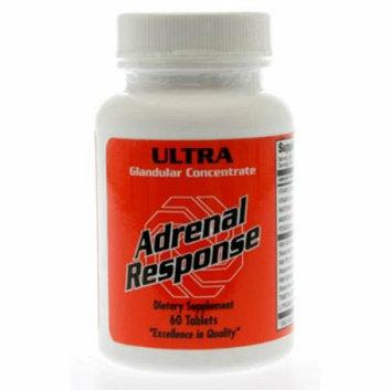 Ultra Glandulars Adrenal Response 60 Tablets