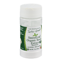 SweetLeaf Organic Stevia Extract Sweetener