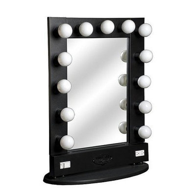 Vanity Girl Hollywood Broadway Lighted Make Up Mirror