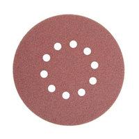 ALEKO® 240 GRIT 10-Hole Sand Paper Sanding Discs for Drywall Sander 10 Pack