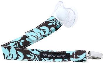 Ah Goo Baby Pacifier Clip Pattern: Vintage Blue