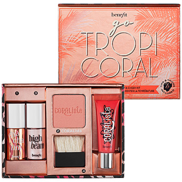 Benefit Cosmetics Go Tropicoral Lip & Cheek Kit