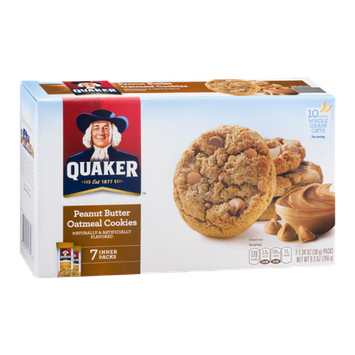 Quaker Peanut Butter Oatmeal Cookies - 7 CT