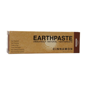 Redmond Earthpaste Amazingly Natural Toothpaste, Cinnamon, 4 oz
