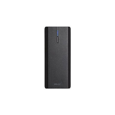 PNY PowerPack T6600 - External battery pack Li-Ion 6600 mAh - 2 output connector(s)