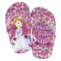 Disney Toddler Girl's Sofia The First Flip Flop Sandals - Pink 7
