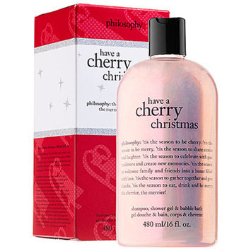 philosophy have a cherry christmas shower gel, 16 fl oz